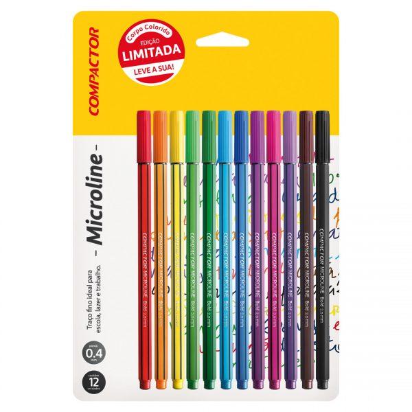 canetas microline edição limitada