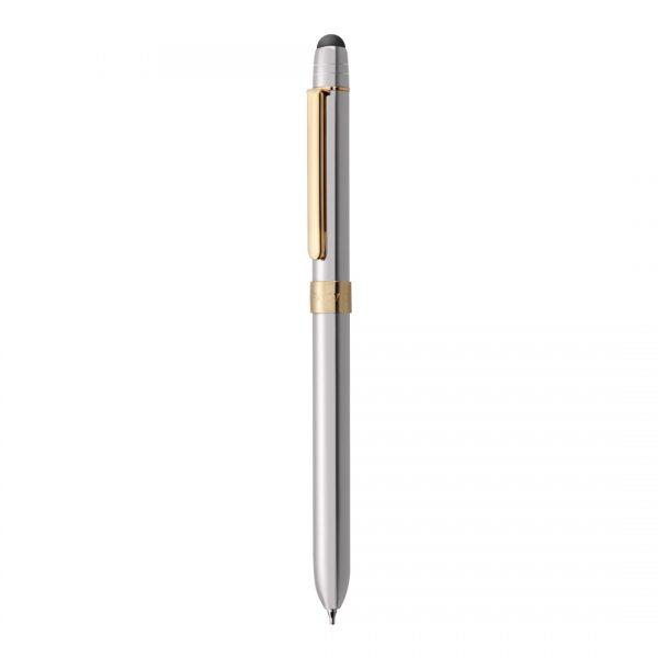 caneta tripen metalic