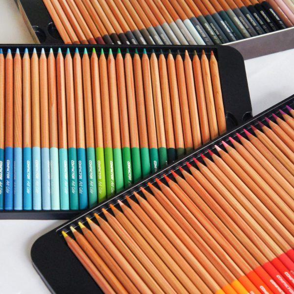 lápis de cor compactor