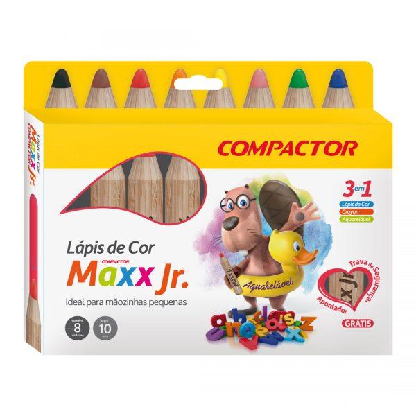 kit lapis de cor maxx jr compactor