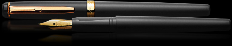 Caneta Tinteiro Gold Compactor