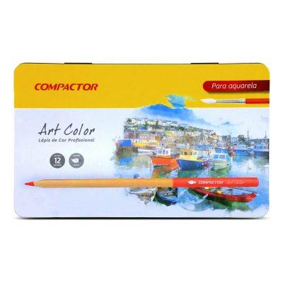 Lápis de Cor Art-Color Aquarelável Compactor