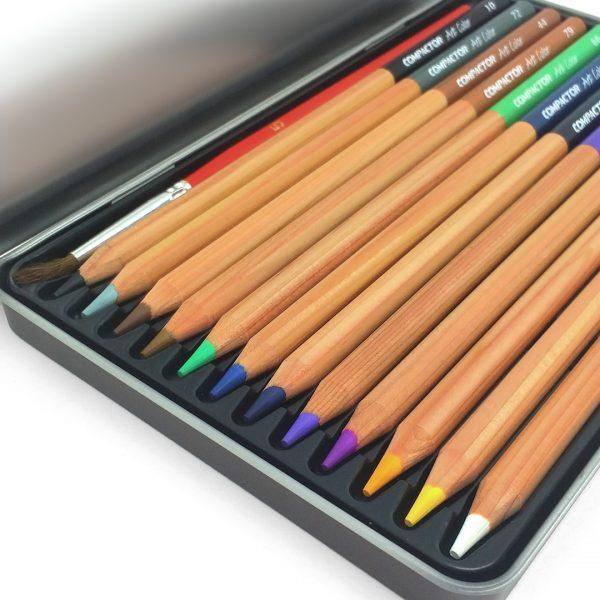 Lápis de Cor Art-Color Aquarelável 12 cores