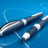 caneta one change azul