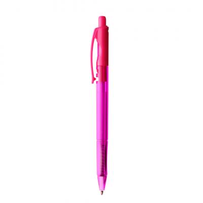 caneta esferografica 07 rosa