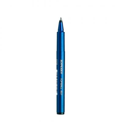 caneta topball 857 azul