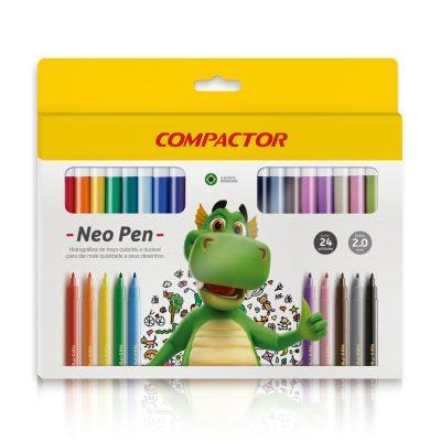 caneta neo pen 24 compactor