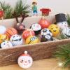 marcador de giz bolas de natal