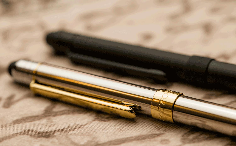 Por que escolher canetas com corpo metálico?