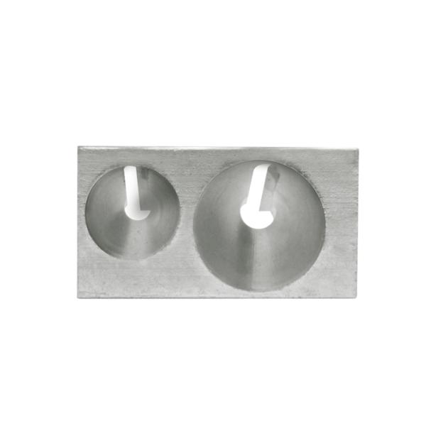 apontador metal duplo compactor