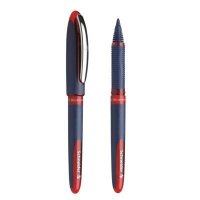 caneta one business vermelha