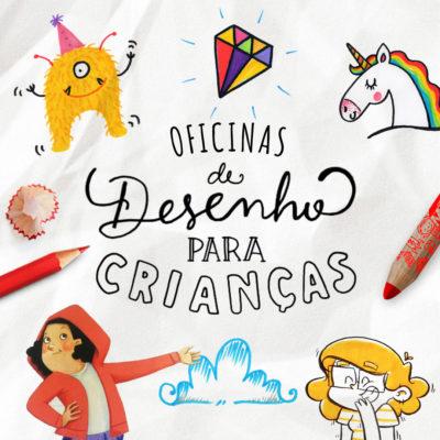 oficinas de desenho para crianças