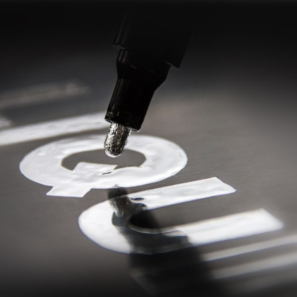 ponta caneta liquid chrome 1mm