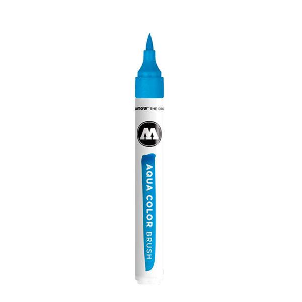 aqua color brush azul claro
