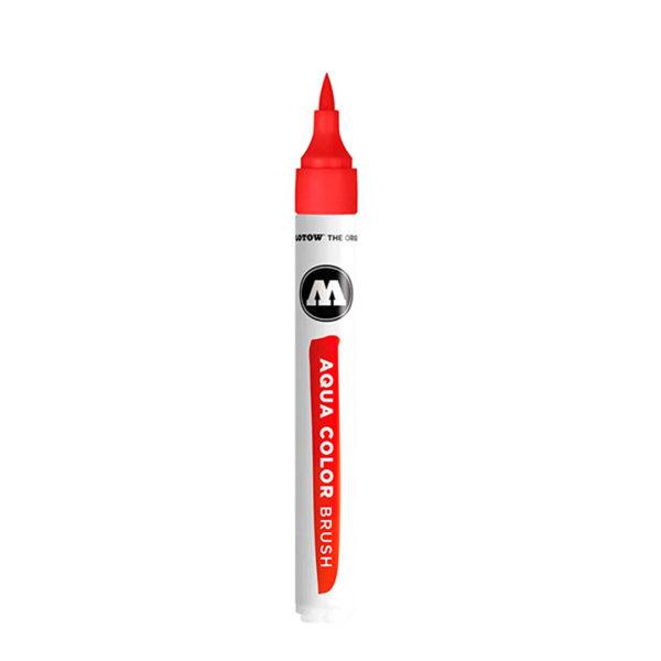aqua color brush vermelha