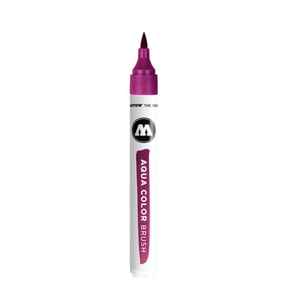 aqua color brush roxo