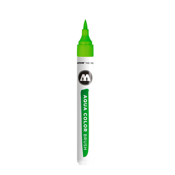 aqua color brush cor verde claro