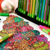 colorindo com caneta schneider line up