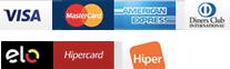 Formas de Pagamento - Cartões de Crédito