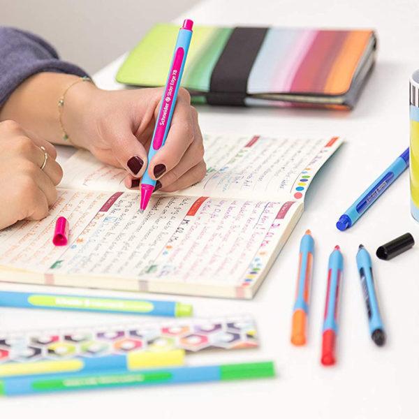 caneta rosa slider edge