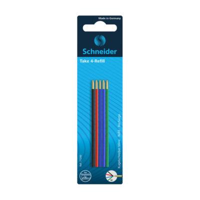 refil caneta quatro cores