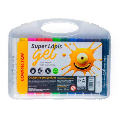 super lápis gel compactor