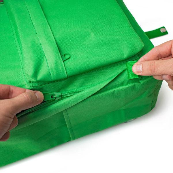 Backpack Verde+ Produtos Compactor 3