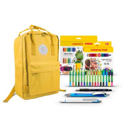 backpack-amarela-com-produtos-compactor