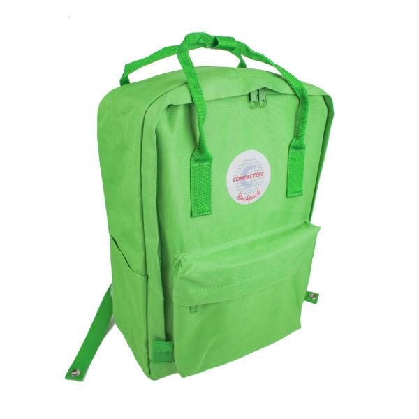 Backpack Verde+ Produtos Compactor 4