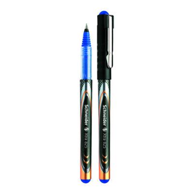 caneta fineline schneider azul