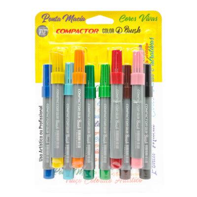 embalagem canetas color brush